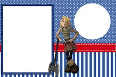 How to Train your Dragon Free Printable Invitations.