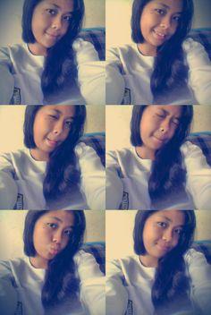 #me #goodgirl #fresh #evening #smile #laugh #white