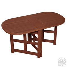 Oak Finish Wall Table Four Corners 69086 Tables Camping World Happy Camper Rv Inside