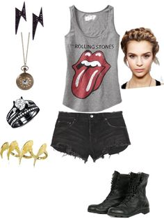 """a day out with friends and your crush:)"" by pmlozano ❤ liked on Polyvore"