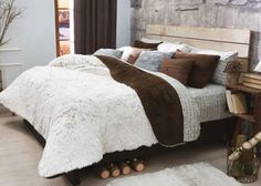 Catálogo de Blancos: Cobertor Everest Capuchino Mat XL - ¡Disponible en Kichink!