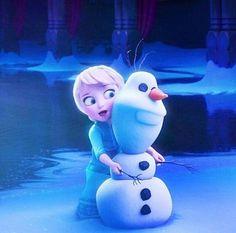 Disney Frozen Olaf and Elsa  #DisneyFrozen
