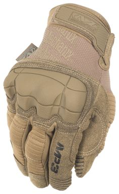 Mechanix Wear X-Large, Brown M-Pact 3 Coyote Tactical Gloves