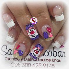 Nail Designs, Nail Art, Nails, Beauty, Pretty Nails, Amor, Polish Nails, Colorful Nail Designs, Pretty Toe Nails