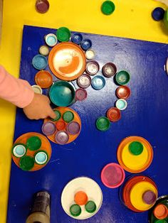 REDUSE*REUSE*RECYCLE... Bottle Lids Wall Art