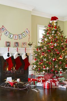 Santa Claus Style   - HouseBeautiful.com
