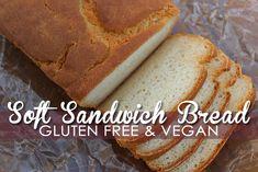 gluten free vegan bread recipe easy sandwich style