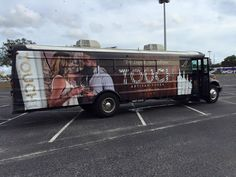 It's not a party without Touch Vodka! Look for our bus rolling through your town.