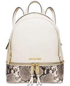 MICHAEL Michael Kors Rhea Zip Medium Backpack - bags, dior, gucci, kate spade, black, ysl bag *ad