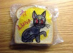 Sailor Moon's cat, Luna (8/26/14)