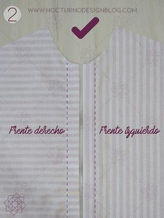 Costura fácil: Camisa a rayas + molde gratis – Nocturno Design Blog Design Blog, Costura Diy, Athletic Tank Tops, Sewing, Clothes, Women, Fashion, Tips, Vestidos