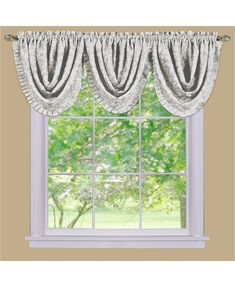 Achim Sutton Waterfall Valance - All Window Treatments & Blinds - Home - Macy's
