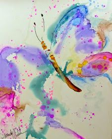 Alcohol Inks on Yupo: How to Paint with Alcohol Inks