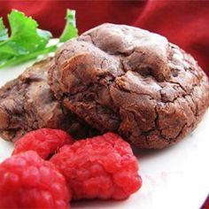 Chocolate Truffle Cookies Allrecipes.com