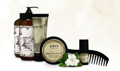 WEN® Hair Care Products | this one product takes the place of your shampoo, conditioner, deep conditioner, detangler and leave-in conditioner. It cleanses hair thoroughly but without lathering and all the harsh ingredients that may be found in ordinary shampoos-it is designed not to strip your hair and scalp of their natural oils. Your hair is left with strength, moisture and manageability.