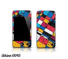 iPhone 4 4s Skin 0043 by Iskinn on Etsy, $14.99