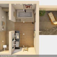 Grundriss 3D Badezimmer Planung | Bad | Pinterest | 3D