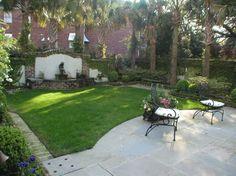 Historic Charleston Courtyard traditional-landscape