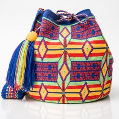 Hermosa Wayuu Mochila bag   WAYUU TRIBE – WAYUU TRIBE   AUTHENTIC HANDMADE WAYUU MOCHILA BAGS www.wayuutribe.com starting at $ 108.00