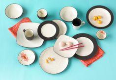 Noritake Colorwave Graphite Dinnerware Collection #macysdreamregistry