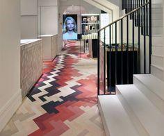 fabulous floor by raw-edges for stella mccartney