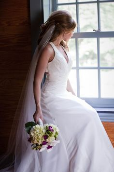 I'm not planning a wedding, but I still like to look at the pretty dresses because I have made several. It is so nice to start seeing more of them with tops and sleeves of some sort. Why do fashion people think that ALL brides want to expose everything on her wedding day???