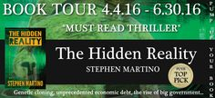 Check out this #BlogTour featuring, The Hidden Reality by Stephen Martino! Find an excerpt and enter to win here!