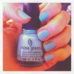 China Glaze nail polish in For Audrey