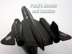 Lockheed SR-71 Blackbird Spy Plane 1/200 Scale Diecast Metal Model by Model Power