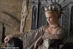 Charlize as The Evil Queen