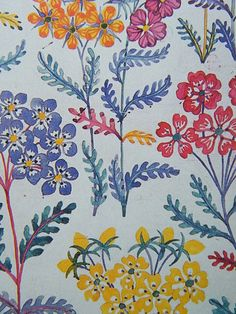 josef frank by Neville Trickett, via Flickr - #textile