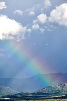 Rainbow Over Santa Rita Mountains - Green Valley, Arizona