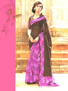 Saree is one of the must have garment in Indian women's attire. Choose from wide range of latest designer sarees and Indian wedding party wear sarees for reception. Latest Designer Sarees, Stylish Sarees, Party Wear Sarees, Printed Sarees, Saree Wedding, Sarees Online, Silk Sarees, Casual Wear, Fashion Outfits