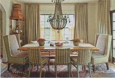 .Fran Keenan's Dining Room -Southern Living Jan 2012