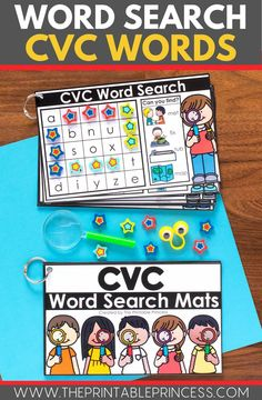 CVC Worksheets can get boring, here's some fun low-prep CVC activities that will keep your students engaged as they learn to read and recognize CVC words. Easy to prep!