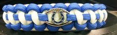 Indianapolis Colts Paracord Bracelet w/ by ArmCandyDesignsTN, $16.00