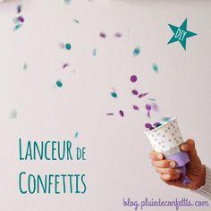 DIY lanceur de confettis