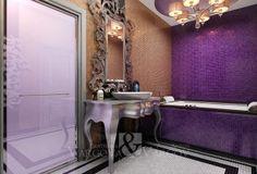 Pink Room, Interior Decorating, Decorating Ideas, Room Interior, Designer, Oversized Mirror, Entryway Tables, Vanity, Rooms