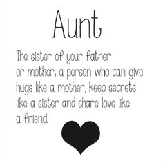 So true about my Aunt Dorene, Aunt Sandra, and my Aunt LouAnn :)