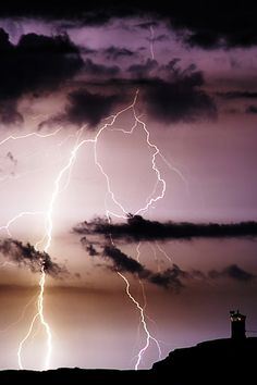 Multiple strikes this looks like fla storms like the one bolt hit my backyard last week!!! lol