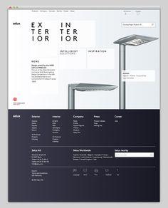 Web / Selux — Designspiration