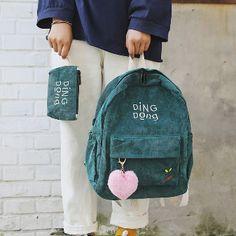 Preppy Harajuku Antique Scholar Backpacks with center Allure on Storenvy