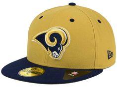 Los Angeles Rams New Era NFL 2 Tone 59FIFTY Cap ( 35) Gorras Snapback 0025171d546
