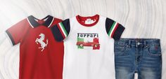 341672 Ferrari Kids' Clothing & Toys