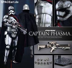 Star Wars: Captain Phasma, Deluxe-Figur (voll beweglich) ... https://spaceart.de/produkte/sw109.php
