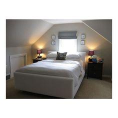 Schlafzimmer Designs Kleine Zimmer Mit Schrägen Dächern Schlafzimmer In Reihenfolge, um Interesse zu addieren, denken Sie an einen Brennpunkt wie ein durchscheinend Kronleuchter hing über dem Bett, wird das Licht refle...