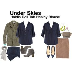 A fashion look from December 2013 featuring Madewell jackets, J.Crew skirts and Hoss Intropia ankle booties. Browse and shop related looks.
