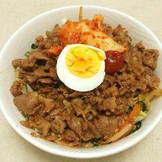 お母さんに教わって(o^^o) - 16件のもぐもぐ - ビビンバ風丼(o^^o) by patipatihb