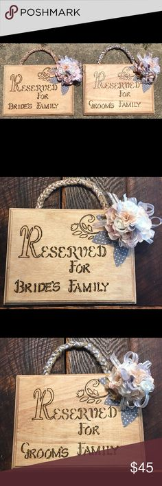 Customized Wood Burning Signs for any Occassion Get the Rustic look of my Custom Made Wood Burning Signs for any Occassion, I can make these with your color of Choice. Hand Crafted By Me Other Wood Burning, Shop My, Rustic, Signs, How To Make, Crafts, Closet, Color, Things To Sell