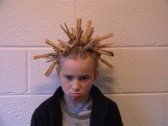 """Sarah's """"crazy hair day""""   by axc"""